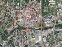 poloha ve městě (Pronájem kancelářských prostor 42 m², Česká Lípa)