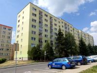 Pohled na dům (Pronájem bytu 3+1 v družstevním vlastnictví 62 m², Česká Lípa)
