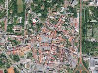 poloha domu ve městě (Prodej bytu 2+1 v osobním vlastnictví 56 m², Česká Lípa)