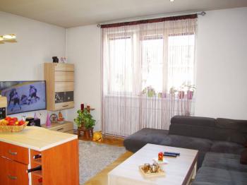 Obývací pokoj  - Prodej bytu 3+kk v osobním vlastnictví 70 m², Praha 10 - Vršovice