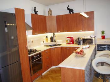 Kuchyňský kout - Prodej bytu 3+kk v osobním vlastnictví 70 m², Praha 10 - Vršovice