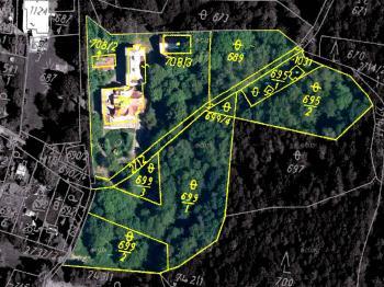 Budovy s lesoparkem - Prodej komerčního objektu 5747 m², Kamenický Šenov
