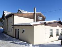 Pohled od silnice - Prodej penzionu 480 m², Mařenice