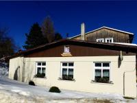 Pohled od jihu - Prodej penzionu 480 m², Mařenice