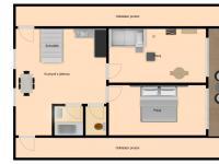 Půdorys 2.NP - Prodej domu v osobním vlastnictví 189 m², Česká Lípa