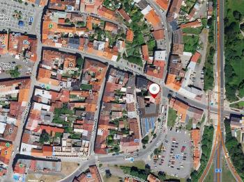 poloha domu ve městě - Prodej nájemního domu 275 m², Česká Lípa