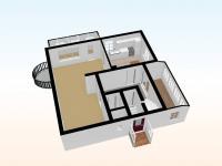 Pohled 3D  - Prodej domu v osobním vlastnictví 230 m², Varnsdorf