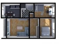 Prodej bytu 3+1 v družstevním vlastnictví 67 m², Česká Lípa