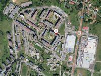 poloha domu - Prodej bytu 3+1 v družstevním vlastnictví 67 m², Česká Lípa