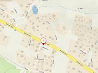 Mapa základní - Prodej pozemku 1001 m², Kamenice