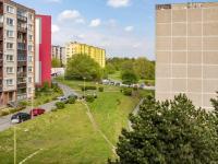 výhled z ložnice - Prodej bytu 2+kk v osobním vlastnictví 41 m², Česká Lípa