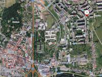 poloha ve městě - Prodej bytu 2+kk v osobním vlastnictví 41 m², Česká Lípa