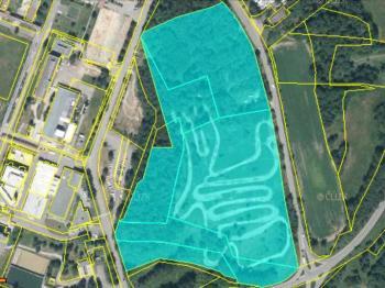 Pohled na soubor pozemků - Prodej pozemku 69342 m², Stráž pod Ralskem