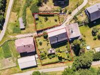Pohled shora  - Prodej chaty / chalupy 200 m², Zahrádky
