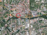 poloha ve městě - Pronájem obchodních prostor 15 m², Česká Lípa