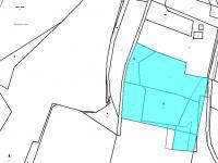 Katastrální snímek - Prodej pozemku 18546 m², Česká Lípa