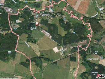 Umístění pozemku v Žizníkově - Prodej pozemku 18546 m², Česká Lípa