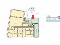 Pronájem kancelářských prostor 20 m², Praha 8 - Libeň
