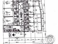 stavební plánek pokoje - Prodej hotelu 699 m², Praha 8 - Čimice