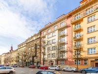 pohled na dům (Prodej bytu 3+1 v osobním vlastnictví 105 m², Praha 3 - Vinohrady)