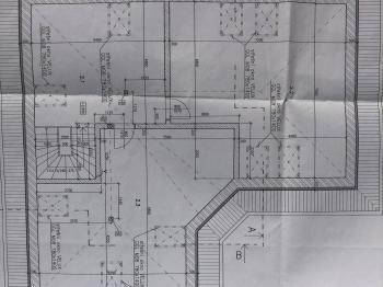 půdorys 2.NP - Prodej domu v osobním vlastnictví 290 m², Říčany