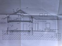 řez (Prodej domu v osobním vlastnictví 290 m², Říčany)