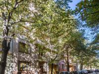 prostor před domem (Prodej bytu 2+kk v osobním vlastnictví 48 m², Praha 3 - Žižkov)