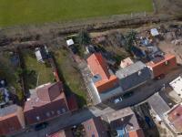 pohled z ptačí perspektivy - Prodej domu v osobním vlastnictví 300 m², Říčany