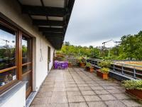 terasa - Prodej kancelářských prostor 118 m², Praha 10 - Hostivař