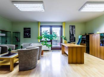 největší kancelář s východem na terasu - Prodej kancelářských prostor 118 m², Praha 10 - Hostivař