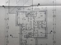 půdorys 2.NP - Pronájem domu v osobním vlastnictví 411 m², Praha 10 - Uhříněves