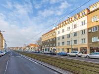Pohled na dům b (Prodej bytu 2+kk v osobním vlastnictví 63 m², Praha 6 - Břevnov)