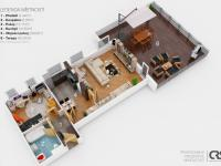 Prodej bytu 2+1 v osobním vlastnictví 68 m², Praha 9 - Vysočany