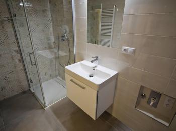 Koupelna c - Prodej bytu 3+kk v osobním vlastnictví 74 m², Praha 7 - Holešovice