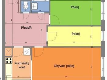 Byt 3+kk na prodej, Praha 8 (Kobylisy)