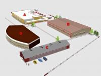 varianta výstavby (Prodej pozemku 2279 m², Rudoltice)