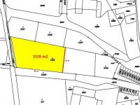 Výměra: 2539 m2 (Prodej pozemku 2539 m², Lanškroun)
