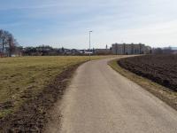 Pohled k městu (Prodej pozemku 2539 m², Lanškroun)