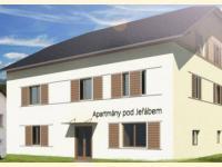 budoucí vzhled penzionu (Prodej bytu 2+kk 53 m², Červená Voda)