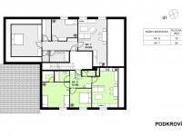 podkroví penzionu (Prodej bytu 2+kk 64 m², Červená Voda)