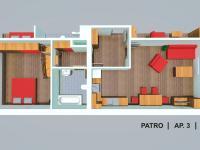 apartmán č. 3 (Prodej bytu 2+kk 64 m², Červená Voda)