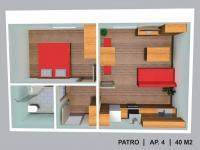 Prodej bytu 2+kk 40 m², Červená Voda