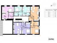 2NP penzionu (Prodej bytu 3+kk 94 m², Červená Voda)