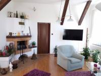 obývací část v 1NP (Prodej domu v osobním vlastnictví 280 m², Staré Město)