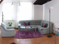 obývací část v 1NP (Prodej penzionu 280 m², Staré Město)