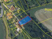 Prodej pozemku 679 m², Pozdeň