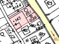 Mapa KN (Prodej domu v osobním vlastnictví 488 m², Opatovec)