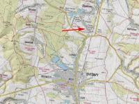 Mapa širší (Prodej domu v osobním vlastnictví 488 m², Opatovec)