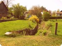 Přední část zahrady (Prodej historického objektu 80 m², Včelákov)