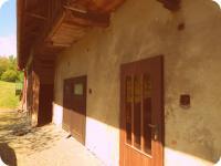 Bývalé návalí k pile, nyní stodola a garáž (Prodej historického objektu 80 m², Včelákov)